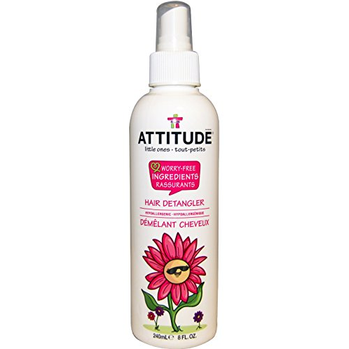 Price comparison product image ATTITUDE, Little Ones, Hair Detangler, 8 fl oz (240 ml) - 2PC