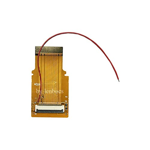 Lenboes Replacement GBA SP AGS-101 LCD Screen Backlit Adapter Mod 40 Pin Ribbon Cable for Nintendo Gameboy Advanc with Opening Tools (40 Pin) ()