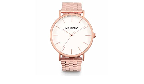 Reloj mr. boho 15v-cw vintage metallic copper: Amazon.es: Deportes y aire libre