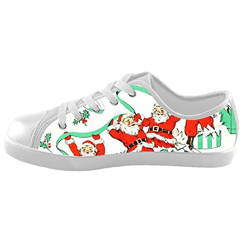 Custom Kid's Shoes Santa Claus New Sneaker Canvas ()