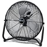 Jarden Home Environment PUF1810B-BM Patton 3spd 18 in. Hivelocity Fan