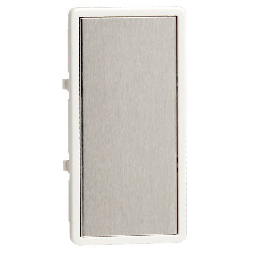 Leviton TTKTR-WS, Color Change Kit for True Touch Remote Dimmer, White Frame-Silver Touch Plate