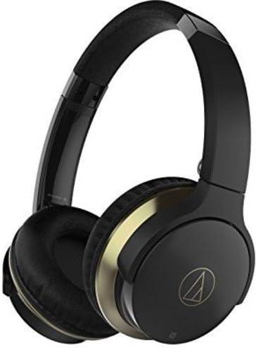 Audio-Technica ATH-AR3BTBK SonicFuel Bluetooth Wireless On-Ear Headphones with Mic & Control, Black (Certified Refurbished)