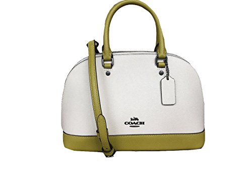 Inclined Mini Sierra Handbag Purse Shoulder Women��s Chalk Chartreuse Satchel Coach Shoulder XqUwW1ExPH