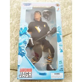 "Hasbro 1999 NHL Starting Lineup 12"" - Jaromir Jagr - Pitt..."