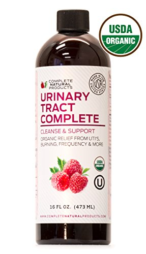 Urinary Tract Complete 16oz - Organic Liquid Bladder, UTI, UTI Prevention & Yeast Infection Treatment
