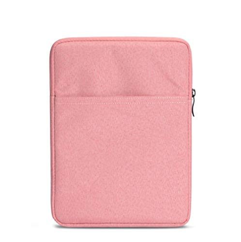 QIUQIU Nylon Cover Pouch Bag Sleeve for Amazon Kindle Paperwhite/Voyage/All-New Kindle(8th Generation, 2016)/Kindle Oasis E-Reader (Pink)