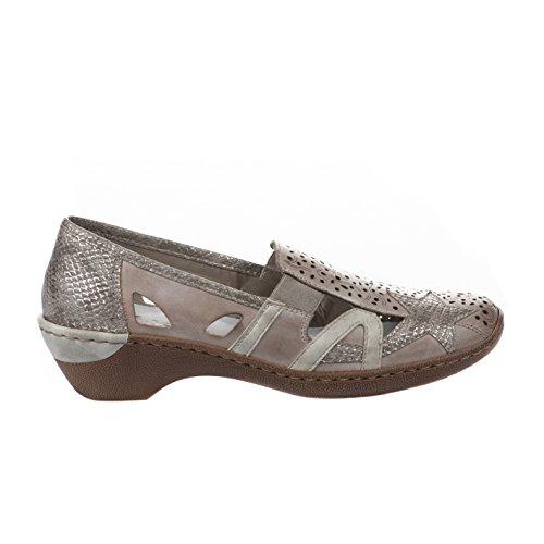 48385 Grey RIEKER Womens 41 Shoe Rieker qIwq0T7xt