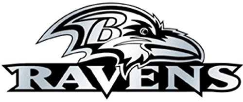 - NFL Baltimore Ravens Chrome Automobile Emblem