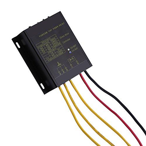 Regulador de la carga del viento de la prenda impermeable 400W con la función auto y manual del freno para el generador de...