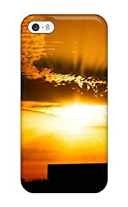 Fashionable Style Case Cover Skin For Iphone 5/5s- Attractive Sunrise