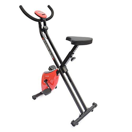 Loctek Recumbent Exercise Bike Cycling Stationary Cardio Fitness Indoor Sports (X-bike)