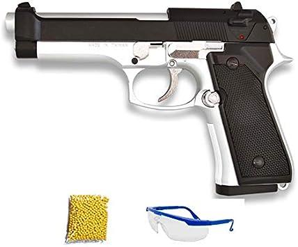 HFC HA-118E Mixta. Pistola de Airsoft Calibre 6mm (Arma Aire Suave de Bolas de plástico o PVC). Sistema: Muelle. <3,5J