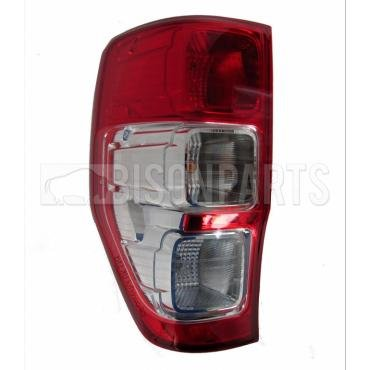 Bison Rear Tail Light Lamp Lens Complete with Bulb Holder and Bulbs Lh/Ns
