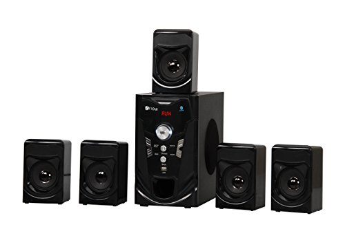 Flow 5.1 Speaker System Model 8080 with Bluetooth