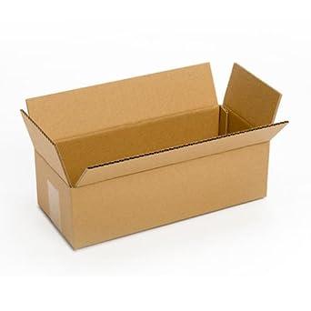 PRATT pra0072 reciclado único pared estándar de largo de cartón corrugado caja con C flauta,