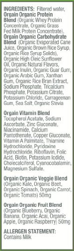 Orgain Healthy Kids Organic Nutritional Shake, Strawberry, 8.25 Ounce, 12 Count
