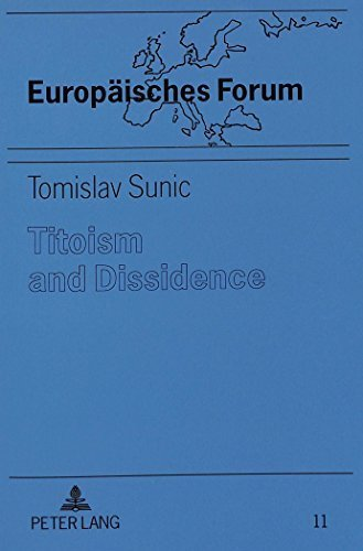 Book cover from Titoism and Dissidence: Studies in the History and Dissolution of Communist Yugoslavia (Medizin in Entwicklungslandern,) by Tomislav Sunic (1995-01-01)by Tomislav Sunic