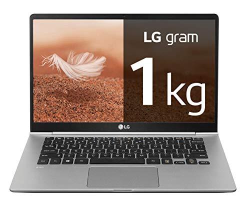 LG gram 14Z990-V – Ordenador portátil ultrafino – 35.5 cm (14″) – FHD IPS (1 kg, autonomía 23.5 h, Intel Core i7-8565U, 8 GB RAM, 256 GB SSD, Windows 10 Home) Color Plata – Teclado QWERTY Español