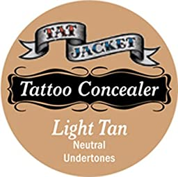 Tatjacket Concealer, Light Tan, 0.5 Ounce