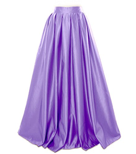Skirt Macloth Prom Satin Lavande Formal Long Party Evening Women Dress xCaqwA