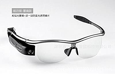 User REALTIME STREAM Bluetooth Video Recording Eyewear 8MP Camera Spy Glasses Handsfree recorder Headphones for all Smartphones PC Tablet or Other Bluetooth Devices