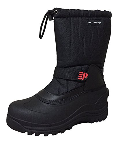 Climate X Men's Winter Snow Boots Insulated Shoes Model-YSC-5 (7.5 D(M) US, Black-05) (Snow Models)