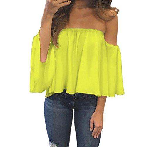 [S-XL] レディース Tシャツ 一言襟 シフォン ストラップレス 長袖 トップス おしゃれ ゆったり カジュアル 人気 高品質 快適 薄手 ホット製品 通勤 通学
