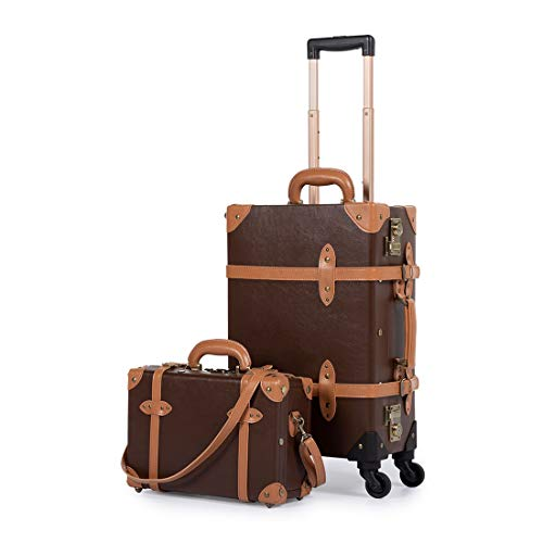 COTRUNKAGE 2 Piece Luggage Sets Carry On Suitcases for Women with TSA Lock (13
