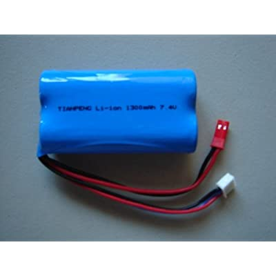 Brand NewUPGRADED 7.4V 1500mAH Battery for Double Horse 9118 RC Helicopter: Toys & Games