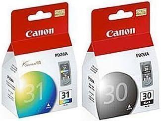 2 PACK GENUINE CANON INK CARTRIDGE SET PG-30 PG30 BLACK /& CL-31 CL31 COLOR 30 31