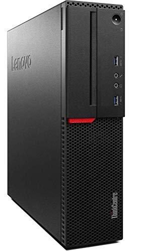 Renewed  Lenovo ThinkCentre m700 Desktop  6th Gen Core i5 4  GB 500 GB HDD Windows MS Office Intel HD Graphics , Black