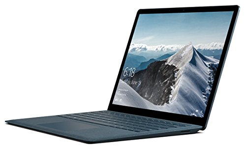 Microsoft Surface Laptop (Intel Core i7, 8GB RAM, 256 GB) – Cobalt Blue (Certified Refurbished)