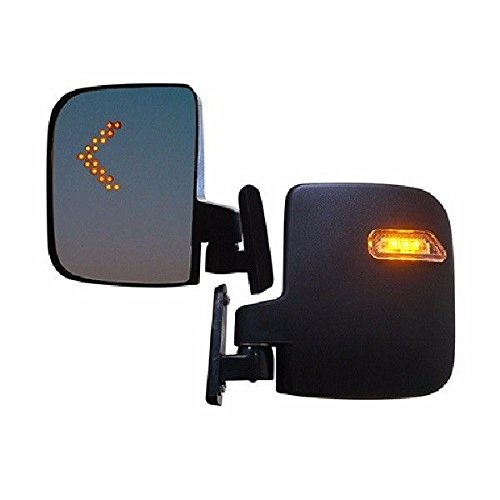 Rhox Golf Cart LED Side Mirror Set