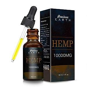 Precious Earth Hemp Natural Oil (10000mg-30ml),Hig...