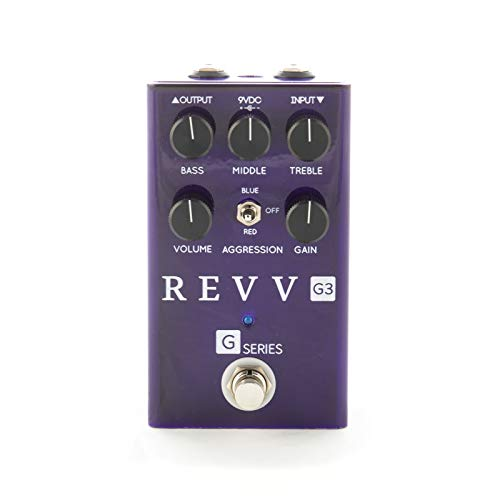 - Revv Amplification G3 Overdrive & Distortion Pedal