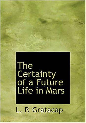 Descargar ebook descargar The Certainty of a Future Life in Mars in Spanish PDF