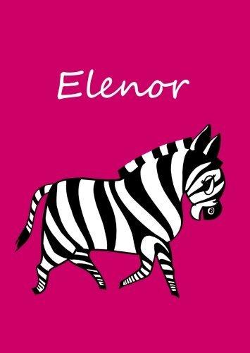 Elenor: personalisiertes Malbuch/Notizbuch/Tagebuch - Zebra - A4 - blanko Taschenbuch – 27. April 2016 edition cumulus B01FUAPZNG ART048000 CGN000000