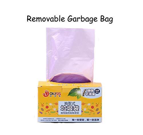 Garbage Bag Stand Auto Garbage Bag Recycling Bio Degradable Recycable Trash Bags Trash Garbage Bags Recycable Kitchen Trash Bags Garbage Bag Countertop Trash Bags 40 Liter Trash Bags 59 (Purple)