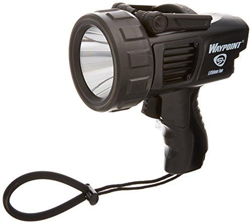 Streamlight 44911 Waypoint Spotlight with 120-Volt AC Charger, Black Cordless Spotlight