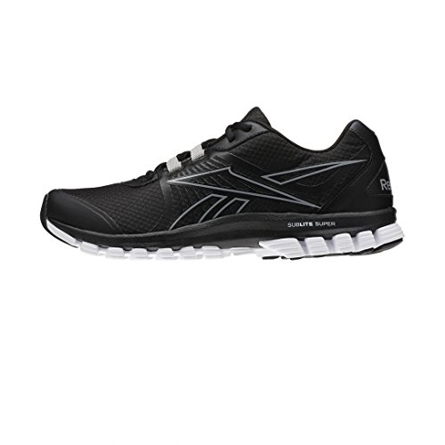 S Super Chaussures Noir Duo Sublite Reebok Black wqO0xgH01