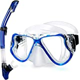 Greatever Dry Snorkel Set,Panoramic Wide
