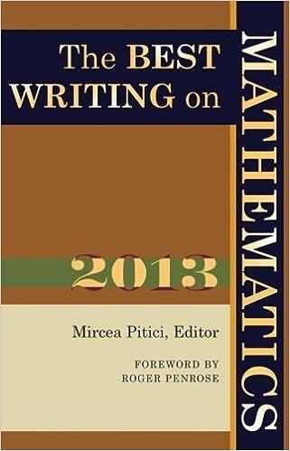 The Best Writing on Mathematics 2013: Mircea Pitici, Roger Penrose