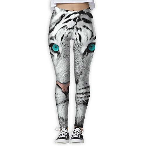 Wholesale Futong Huaxia White Tiger Women's Stretchy Leggings Skinny Pants For Yoga Running Pilates Gym