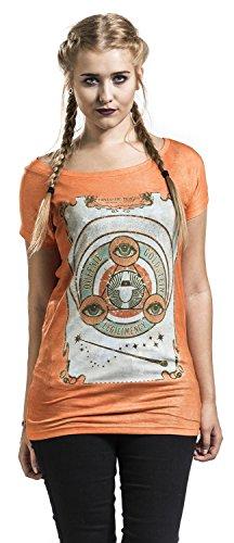 Phantastische Tierwesen und Wo Sie zu Finden Sind Fantastic Beasts Queenie Goldstein Girl Shirt Frauen T-Shirt Orange