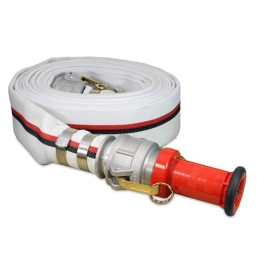 Aluminum 2'' Camlock Fitting Coupling With Heavy-Duty Plastic Fire Nozzle Camlock Gasket Included