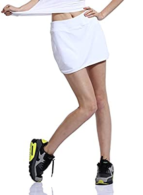 HonourSport Women's Flat Tennis Skorts