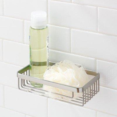 Motiv 551D/SN 7.9in. Hotelier Deep Soap Basket Bathroom Shelf - Ginger Hotelier Soap