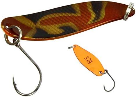 FTM Trout Spoon Forellenblinker Break Orange Schwarz Schwarz 2,2g 5200251 UL