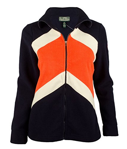 Price comparison product image Lauren Ralph Lauren Women's Color blocked Fleece Active Jacket XS Navy